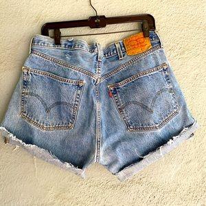 Vintage Levi's 501 High Waist Jean Shorts 501-0193